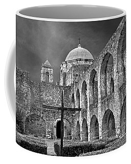 Mission San Jose Arches Bw Coffee Mug