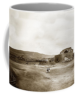Mission San Juan Capistrano California Circa 1882 By C. E. Watkins Coffee Mug