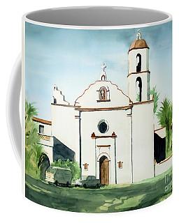 Mission San Luis Rey Colorful II Coffee Mug