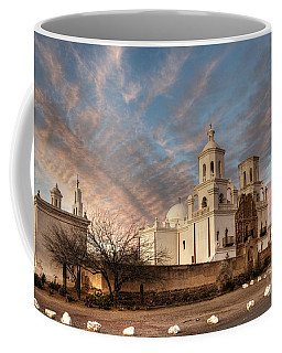 Mission San Xavier Del Bac Coffee Mug by Vivian Christopher
