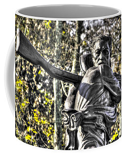 Coffee Mug featuring the photograph Mississippi At Gettysburg - Desperate Hand-to-hand Fighting No. 4 by Michael Mazaika