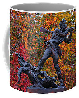 Mississippi At Gettysburg - The Rage Of Battle No. 1 Coffee Mug