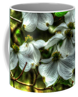 Mississippi Dogwood Coffee Mug by Lanita Williams