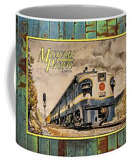 Missouri Pacific Lines Sign Engine 309 Dsc02854 Coffee Mug