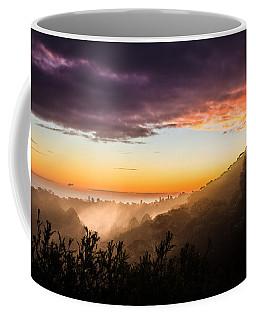 Mist Rising At Dusk Coffee Mug