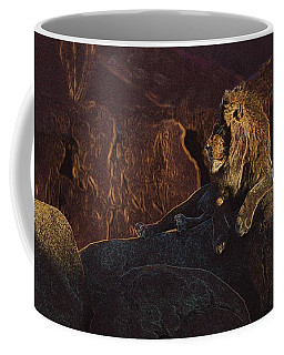 Coffee Mug featuring the photograph Mister Majestic by David Andersen