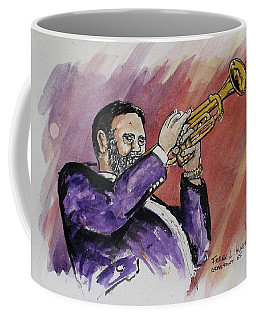 Mister Too Many Notes Coffee Mug by Frank Hunter