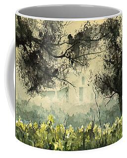 Misty Barn Coffee Mug