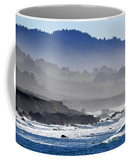 Misty Coast Coffee Mug by AJ  Schibig