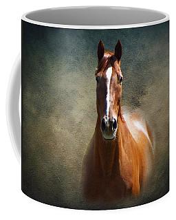 Misty In The Moonlight Coffee Mug by David Dehner