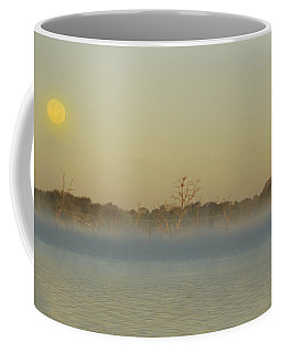 Misty Lake Coffee Mug by Charles Beeler