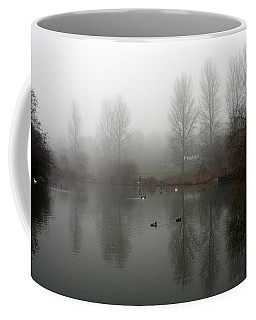 Misty Lake Reflections Coffee Mug