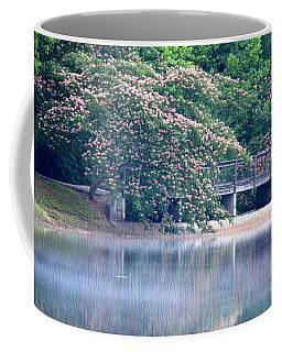 Misty Mimosa Reflections Coffee Mug