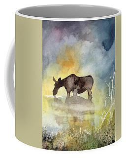 Misty Moose Minerva Coffee Mug
