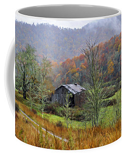 Coffee Mug featuring the photograph Misty Morn by Kenny Francis