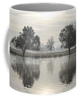 Misty Morning In Bushy Park London 2 Coffee Mug