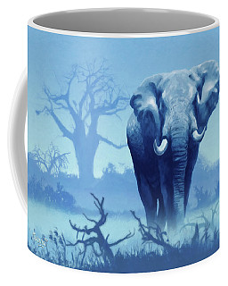 Misty Blue Morning In The Tsavo Coffee Mug