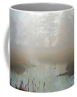 Coffee Mug featuring the photograph Misty Morning by Jordan Blackstone