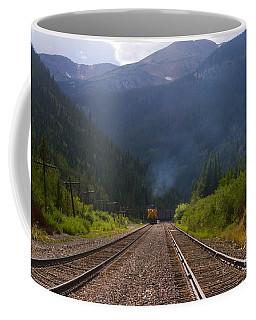 Misty Mountain Train Coffee Mug