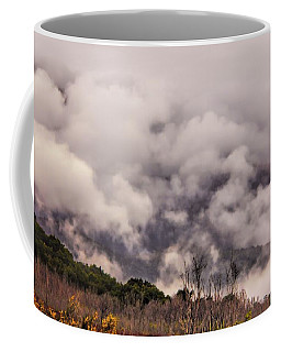 Coffee Mug featuring the photograph Misty Mountains by Wallaroo Images