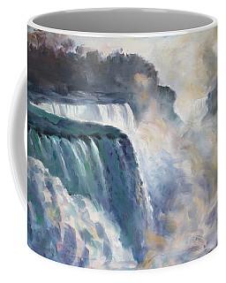 Misty Niagara Falls Coffee Mug