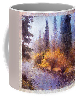 Misty River Afternoon Coffee Mug