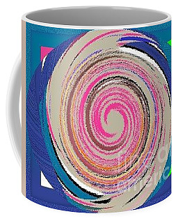 Coffee Mug featuring the painting Mixed by Catherine Lott