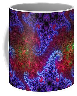 Coffee Mug featuring the digital art Mobius Unleashed by GJ Blackman