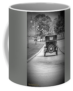 Model T Ford Down The Road Coffee Mug