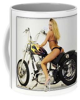 Models And Motorcycles_k Coffee Mug