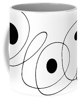 Modern Art - To The Point - By Sharon Cummings Coffee Mug