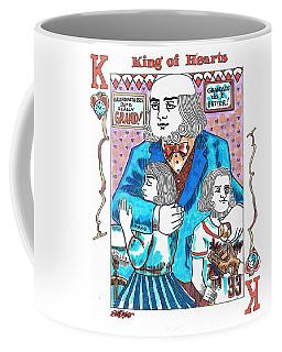 Modern King O' Hearts Coffee Mug by Seth Weaver