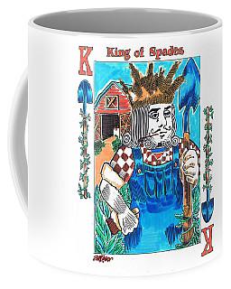 Modern King O' Spades Coffee Mug by Seth Weaver