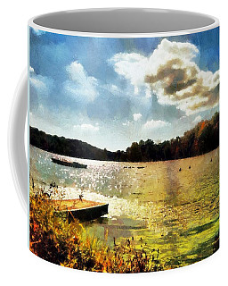 Mohegan Lake Gold Coffee Mug