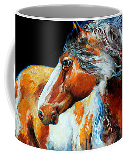 Mohican The Indian War Pony Coffee Mug