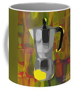 Moka Pot Coffee Mug