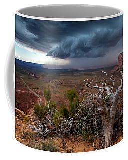 Moki Dugway Thunderstorm - Southern Utah Coffee Mug