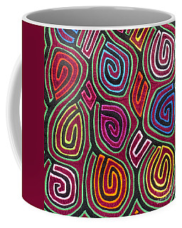Mola Art Coffee Mug by Heiko Koehrer-Wagner