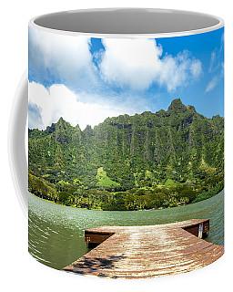 Molii Fishpond 1 Coffee Mug by Leigh Anne Meeks