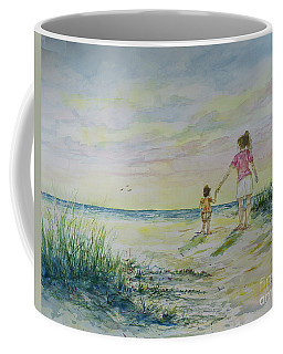 Mommy And Me At The Beach Coffee Mug