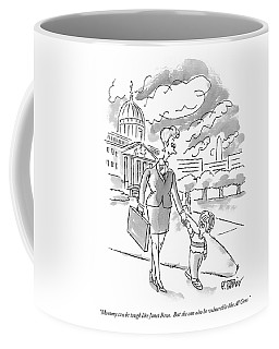 Mommy Can Be Tough Like Janet Reno.  But Coffee Mug