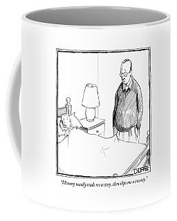 Mommy Usually Reads Me A Story Coffee Mug