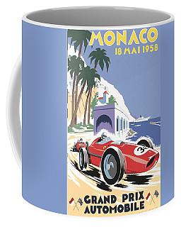 Monaco Grand Prix 1958 Coffee Mug