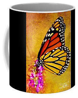 Monarch Butterfly Color Splash Sunset Coffee Mug