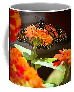 Monarch Butterfly II Coffee Mug by Patrice Zinck