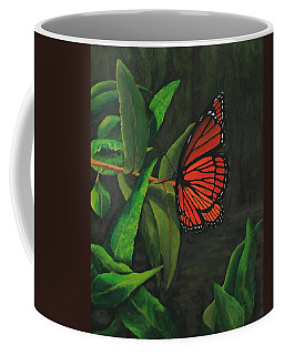 Viceroy Butterfly Oil Painting Coffee Mug