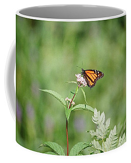 Coffee Mug featuring the photograph Monarch by David Porteus