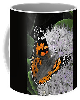 Coffee Mug featuring the photograph Monarch by Photographic Arts And Design Studio