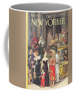 Monday At The Met Coffee Mug