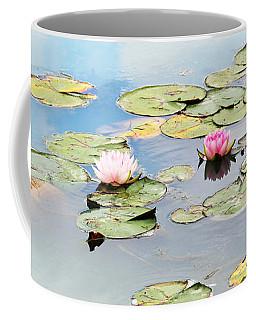 Coffee Mug featuring the photograph Monet's Garden by Brooke T Ryan